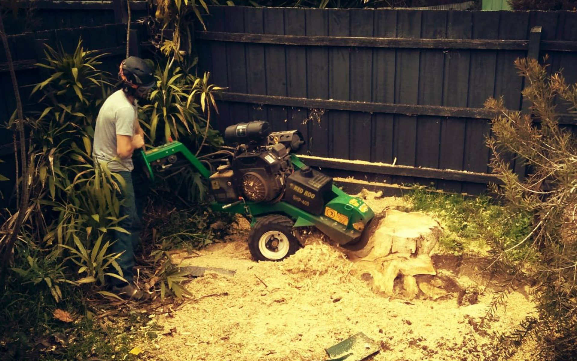 Chipping and mulching
